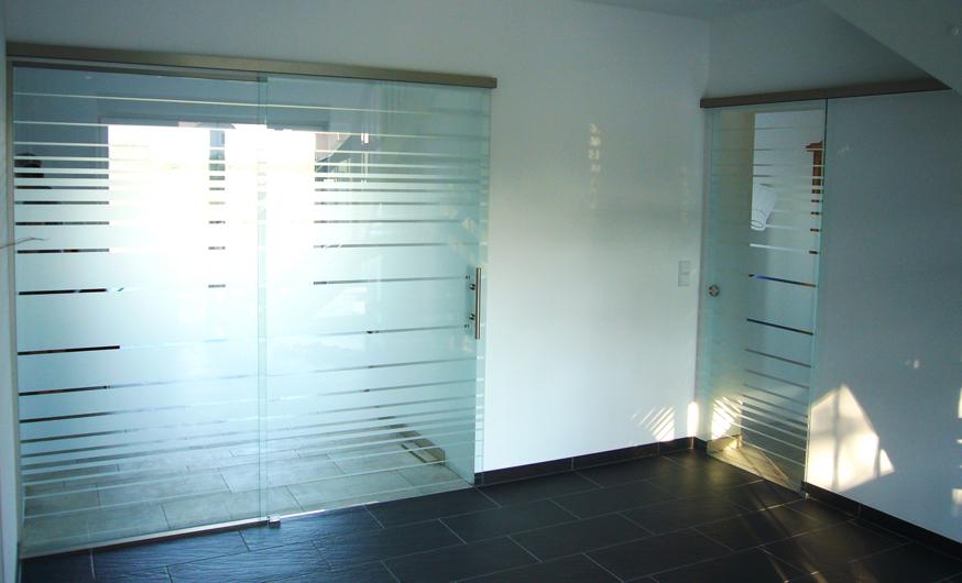Glasschiebetüren Berlin glasschiebetüren mit seitenteilen für große durchgänge und