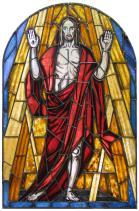 Auferstehungsfenster, St. Georg Kirche, Frankfurt (Oder)