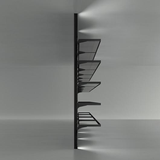 Regalvariante, Bild-Eigentümer: Rimadesio SpA, Cover - Design Einbauschrank, Design by Giuseppe Bavuso
