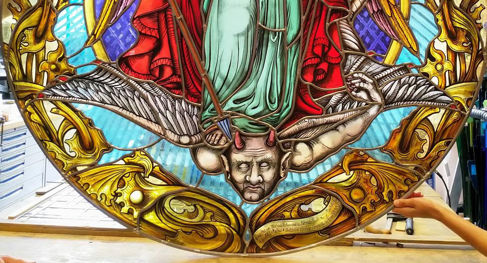 Schlosskirche-Neustrelitz: Der Erzengel Michael