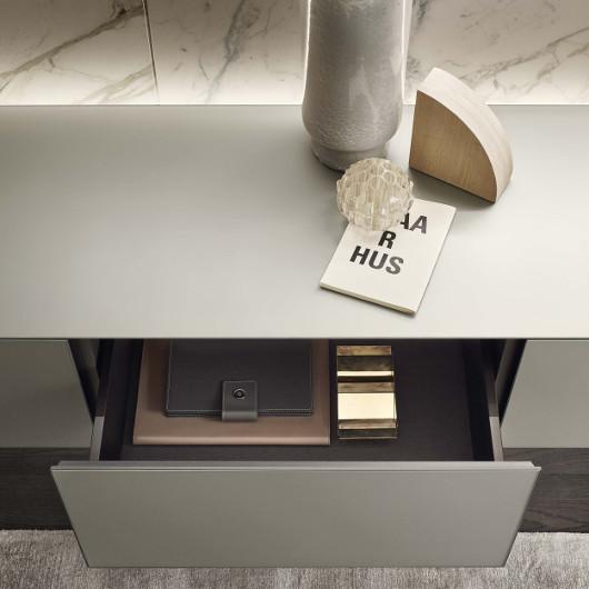 Self Sideboard von Rimadesio, Schubladenelement, Bild-Eigentümer: Rimadesio SpA, Design by Giuseppe Bavuso
