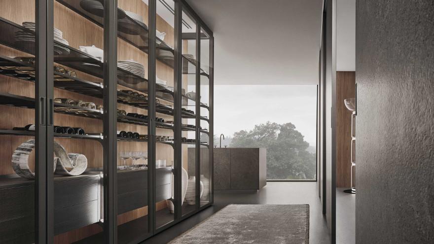 Bild-Eigentümer: Rimadesio SpA, Cover - Design Einbauschrank - Wohnraumsystem, Design by Giuseppe Bavuso