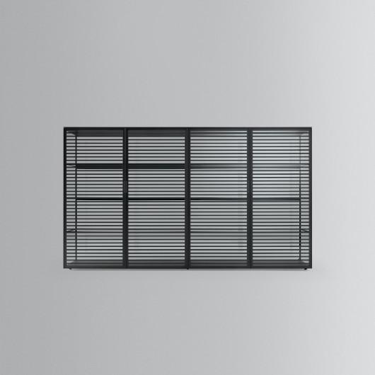 Bild-Eigentümer: Rimadesio SpA, Alambra - italienisches Design, 4-türiges Sideboard