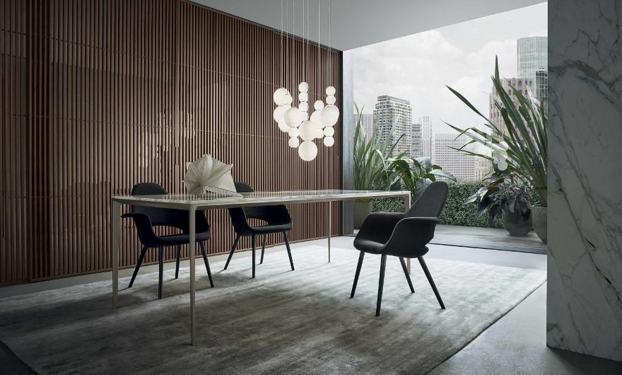Bild-Eigentümer: Rimadesio SpA, Long Island Tisch, italienisches Design by Giuseppe Bavuso