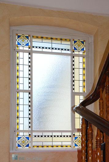 ORIENT Treppenhausfenster