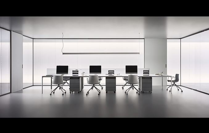 Spazio von Rimadesio - Glas Raum-in-Raum Lösung Büro