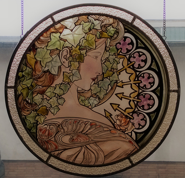 EFEU Glasmalerei