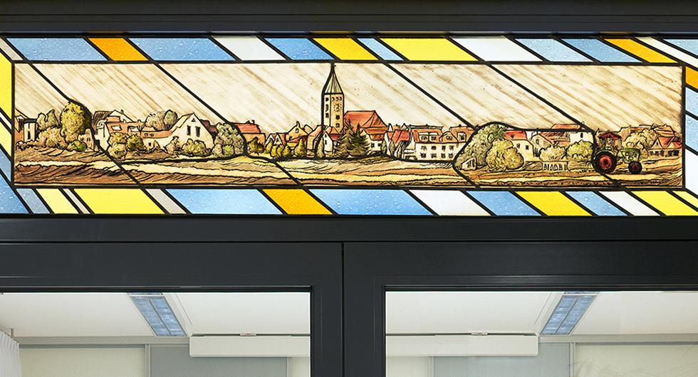 Sennfeld, Rathausfenster