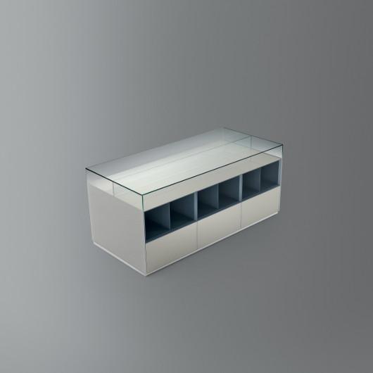 Dolmen Sideboard von Rimadesio, doppelseitig, Bild-Eigentümer: Rimadesio SpA, Design by Giuseppe Bavuso