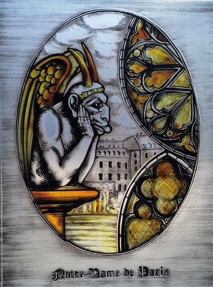 Notre-Dame Fensterbild