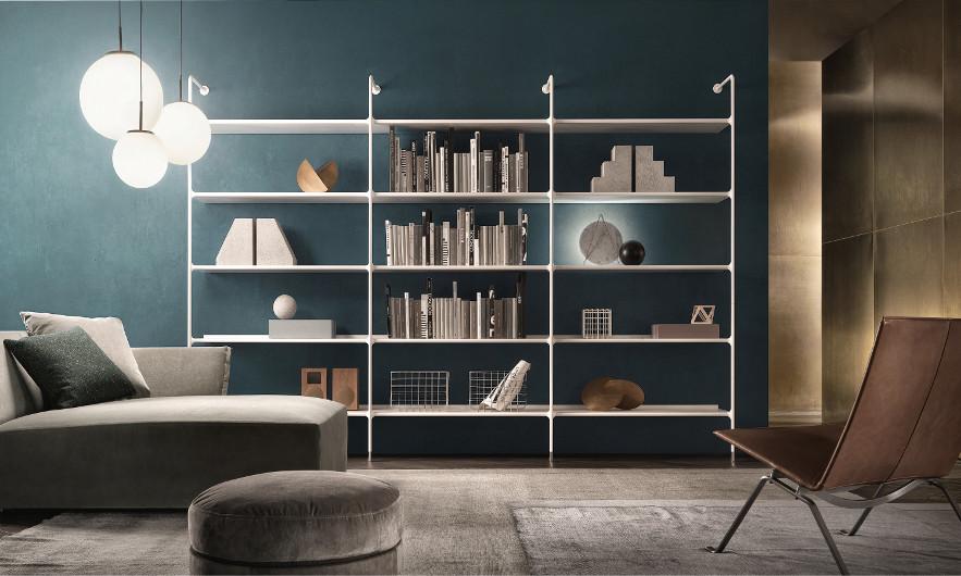 Bild-Eigentümer: Rimadesio SpA, Wind, modulares Bücherregal, Design by Giuseppe Bavuso