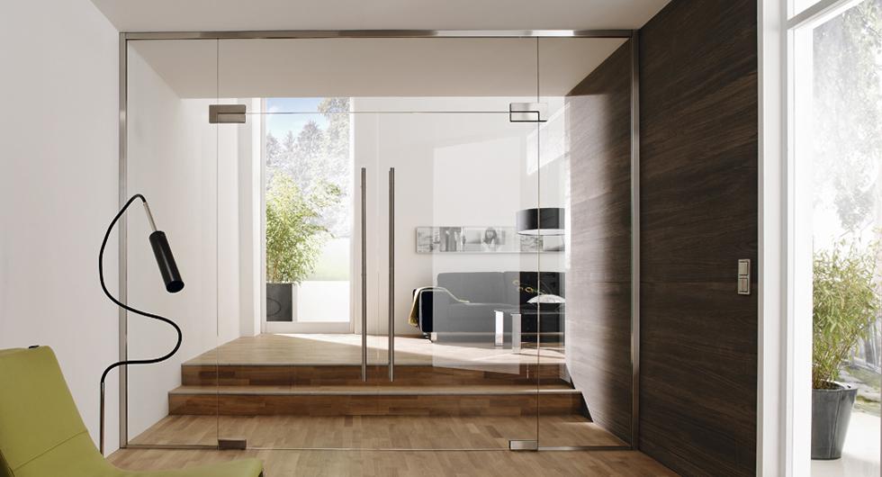 Glastrennwand Büro mit Türe: Raumteiler aus Glas | BERLIN-GLAS, Berlin